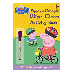 Peppa Pig: Peppa and George's Wipe-Clean Activity Book - Peppa Pig (Paperback)