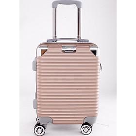 Vali kéo du lịch 841 nhựa ABS chịu lực tốt - Đồng