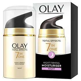 Kem dưỡng đêm 7 tác dụng Olay Total Effects 7 in 1 Night Firming Moisturiser - 15ml