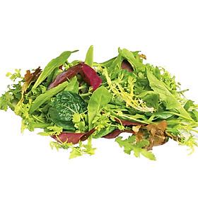 Xà Lách Hỗn Hợp Asian Hữu Cơ Organicfood Hộp - 150g