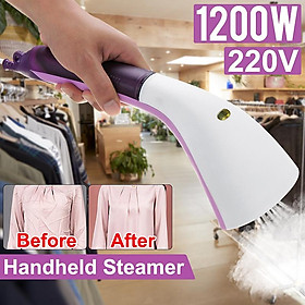 1200W Portable Garment Steamer Handheld Steam Iron Smooth Ironing Preservation One-handed Ironing Small and Handy Machine Home Travel