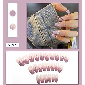 Bộ 24 móng tay giả nail thơi trang như hình (Y097)
