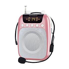 Máy trợ giảng không dây SHIDU kết nối bằng tần số cao cấp, mic trợ giảng cho giáo viên và hướng dẫn viên du lịch, loa trợ giảng cài áo tiện lợi, Hàng nhập khẩu
