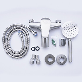 Bộ vòi sen tắm nóng lạnh inox 304 HANBACHVS2