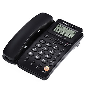 BOTEL T257 fixed telephone / caller ID / hands-free dial / office business with rope landline HCD6238 (28) P / TSD31 (black)