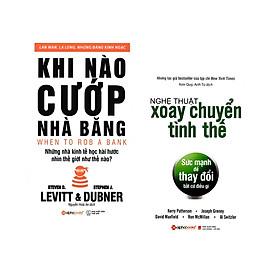 Combo Sách Kỹ Năng Kinh Doanh: Khi Nào Cướp Nhà Băng + Nghệ Thuật Xoay Chuyển Tình Thế