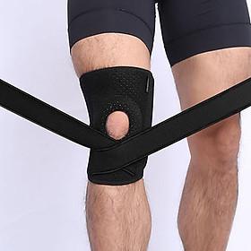 Đai bảo vệ đầu gối có lò xo trợ lực hỗ trợ khớp gối Sport Knee Pad AOLIKES - Tom Sport