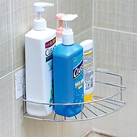 Giá góc dính tường đựng đồ nhà tắm