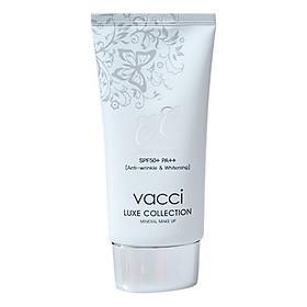 Tuýp Kem Phấn Nền Thế Hệ Mới CC Cream VACCI - Trắng Kem (15g)