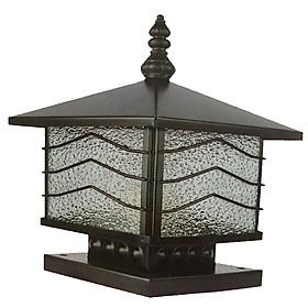 Đèn trụ cổng - Đèn trụ bờ bao - Đèn trụ hàng rào kích thước 350 HANBACH01350