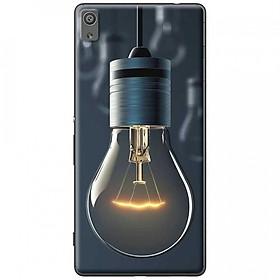 Ốp lưng dành cho Sony Xperia X mẫu Bóng đèn