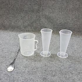 Bộ 4 dụng cụ đong dùng pha chế cà phê, sinh tố