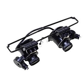 Magnifying Hands Free LED Loupe Eyewear Style Multi Function