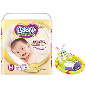 Tã/Bỉm Dán Cao Cấp Siêu Mềm Bobby Extra Soft-Dry M64 (6 - 10Kg) - Tặng Phao Bơi Hình Thú Intex