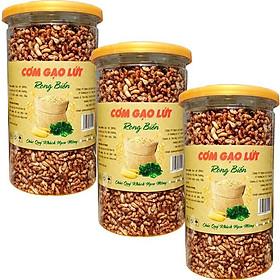 [COMBO 3 HŨ] Cơm gạo lứt rong biển mỗi hũ 250g - món ăn ngon giá rẻ hỗ trợ giảm cân hiệu quả