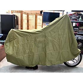 Tấm che mưa nắng xe máy loại dày xịn màu vàng cải chua PKXM002