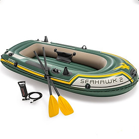 Bộ thuyền bơm hơi INTEX seahawk 3 người INTEX 68380
