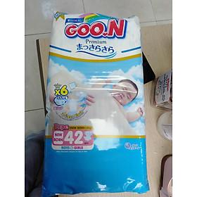 Combo 2 bịch bỉm Goon Premium tặng thêm 1 bịch Goon Premium S36 cùng một túi xách Goon hiện đại