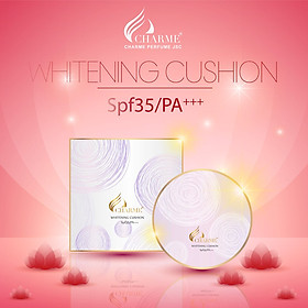 Phấn Nước Charme Whitening Cushion SPF 35/ PA+++-1