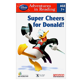 Disney learning Adventures in Reading: Super Cheers For Donald! (Age 7+)