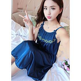 Đầm ngủ nữ có dây vai căn chỉnh độ dài ngắn phù hợp mọi vóc dáng