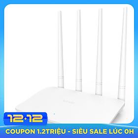 Bộ phát sóng Wifi Tenda 4 anten 300Mps F6 - Hàng Chính Hãng