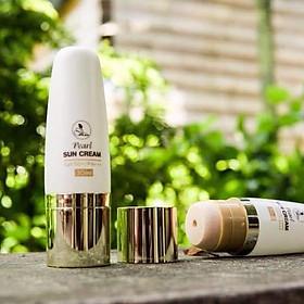 Kem Chống Nắng Pearl Sun Cream SPF 50 PA+++ Mini Garden