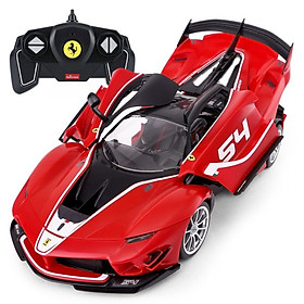Đồ Chơi Bộ lắp ráp xe điều khiển Ferrari FXXK EVO (mở cửa & nắp máy) RASTAR R96900