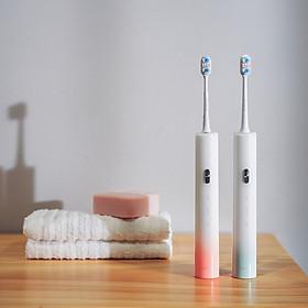Xiaomi ZHIBAI USB Bàn chải đánh răng điện có thể sạc lại Tự động IPX7 Di động chống nước 3 chế độ
