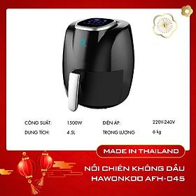 Nồi chiên không dầu màn hình cảm ứng Hawonkoo ( 4.5L ) – AFH-045 – Hàng Chính Hãng