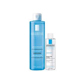 Bộ sản phẩm nước cân bằng giúp se khít lỗ chân lông và làm sạch sâu La Roche-Posay Effaclar Toner 200ml