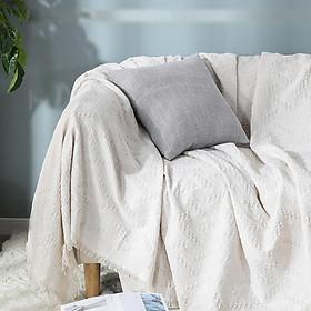 Khăn phủ sofa phong cách Bắc Âu - Kích thước 1.8m*2.3m và 1.8m*3m
