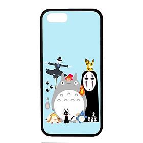 Ốp lưng dành cho Iphone 5s G.H.I Đen Nền Xanh - Hàng Chính Hãng