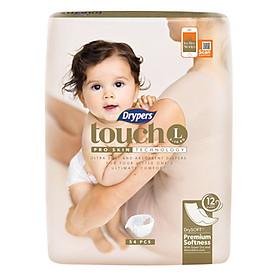 Tã Dán Drypers Touch Cực Đại L54 (54 Miếng)