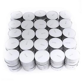Nến tealight 100 viên không mùi dày 1.3cm cháy từ 3h-4h | Bio Aroma