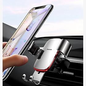 Giá đỡ điện thoại gắn trên cửa gió điều hòa ô tô, xoay 360 độ Baseus , Tính năng khóa/ mở tự động , Tự động điều chỉnh kích thước - Hàng chính hãng - Giao màu ngẫu nhiên