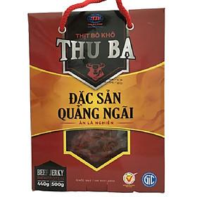 Bò Khô Thu Ba 500g loại sợi