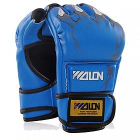 Găng tay đấm bốc Wolon MMA hở ngón cao cấp