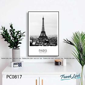 Tranh canvas tháp Eiffel Paris