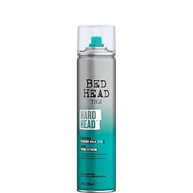 Keo xịt tóc cực kỳ giữ nếp cấp độ 6 HARD HEAD TRAVEL SIZE 385ml [ THẾ HỆ MỚI TIGI ]- Chính Hãng