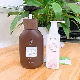 Combo 02 sản phẩm: Sữa tắm men gạo Sake và Dung dịch vệ sinh phụ nữ Marosa - Làm sạch thân thể