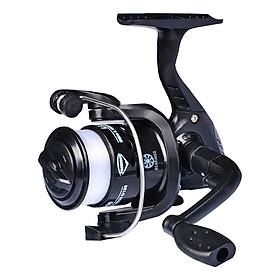 Fun Spinning Fishing Reel CNC Machine Cut Large Arbor Die Casting 5.2:1 Fly Fishing Reel Fishing Tools