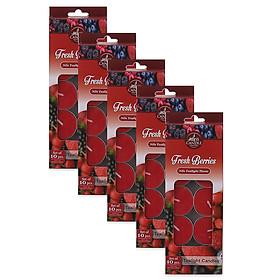 Bộ 5 hộp nến tealight thơm Miss Candle FtraMart MIC0147 (Lựa chọn 10 mùi hương)