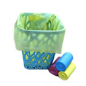 Combo 6 bịch túi rác (6kg) size tiểu thân thiện môi trường