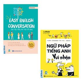 COMBO Easy English Conversation Giao tiếp tiếng Anh thật dễ dàng + Funny Grammar for you Basic Ngữ pháp tiếng Anh vui nhộn