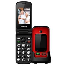 Original YINGTAI T22 3G MTK6276 GPRS MMS Big Push Button Senior Phone Dual SIM Dual Screen Flip Mobile Phone For Elder