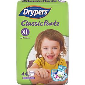Tã Quần Drypers ClassicPantz Gói Đại XL44 (44 Miếng) + Tặng 1 Gói Cùng Loại