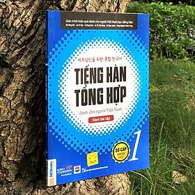 Sách - Combo Tiếng Hàn Tổng Hợp Dành Cho Người Việt Nam - Sơ Cấp 1 Phiên Bản Mới (4 Màu) + Bài Tập (Combo, lẻ tùy chọn)