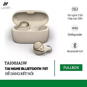 Tai Nghe Không Dây Bluetooth LANITH Elite 75T - Tai Nghe Nhét Tai Thông Minh - Thiết Kế Nhỏ Gọn, Tinh Tế - Âm Thanh Sắc Nét, Trung Thực - Chống Bụi, Chống Nước, Cảm ứng Vật Lý - Hàng Nhập Khẩu - TAI00JA1