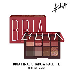 Bảng phấn mắt Bbia Final Shadow Palette – #03 Fruit Combo